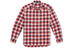 Haglöfs M's Tarn Flannell Shirt REAL RED/BLUE INK